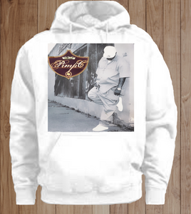 White Pimp c Down For Mine Hoodie