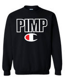 Black Pimp C Champion Crewneck Sweatshirt