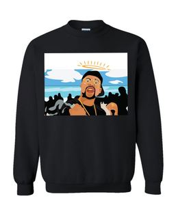 Big Pimpin Black Sweatshirt