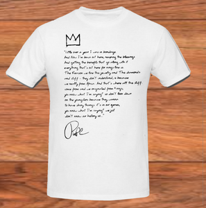 Pimp C We come from Kings and Queens Know Your History T-shirt FUCKWITHMEYOUKNOWIGOTIT