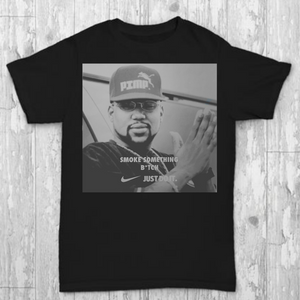Black Pimp C Smoke Something T-shirt