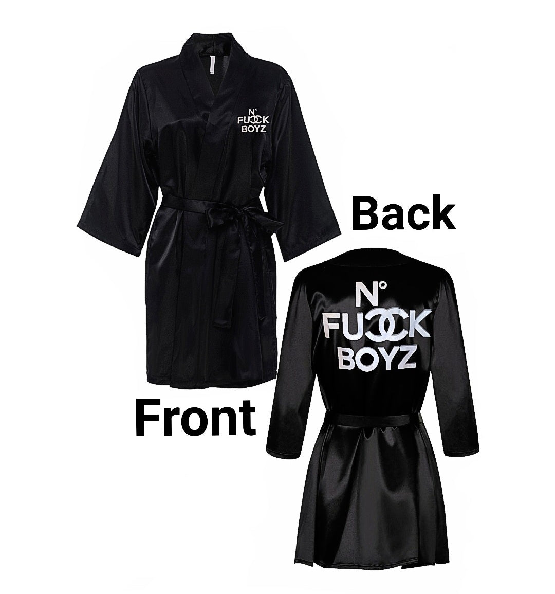 No F*ckBoy Reflector Robe
