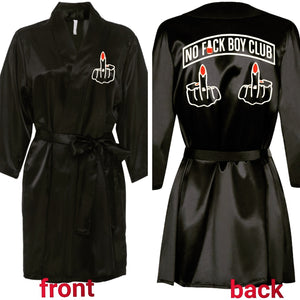No F*ck Boy Club Robe