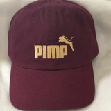 Maroon and Gold stitched Pimp C dad hat