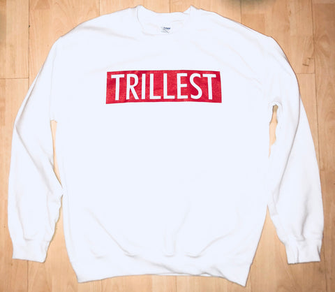 White TRILLEST Sweatshirt
