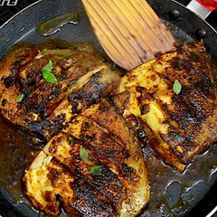 White Pomfret - Whole Fry (Pack for 2)