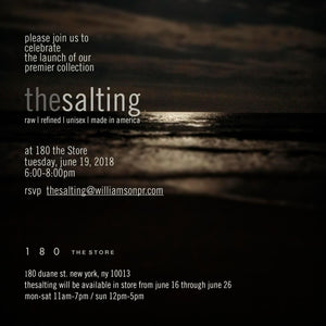 The Salting event, call 212 226 5506 for more info.