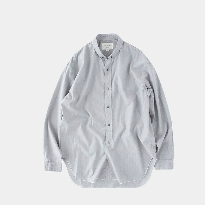 Woven Cotton Shirt by Still By Hand