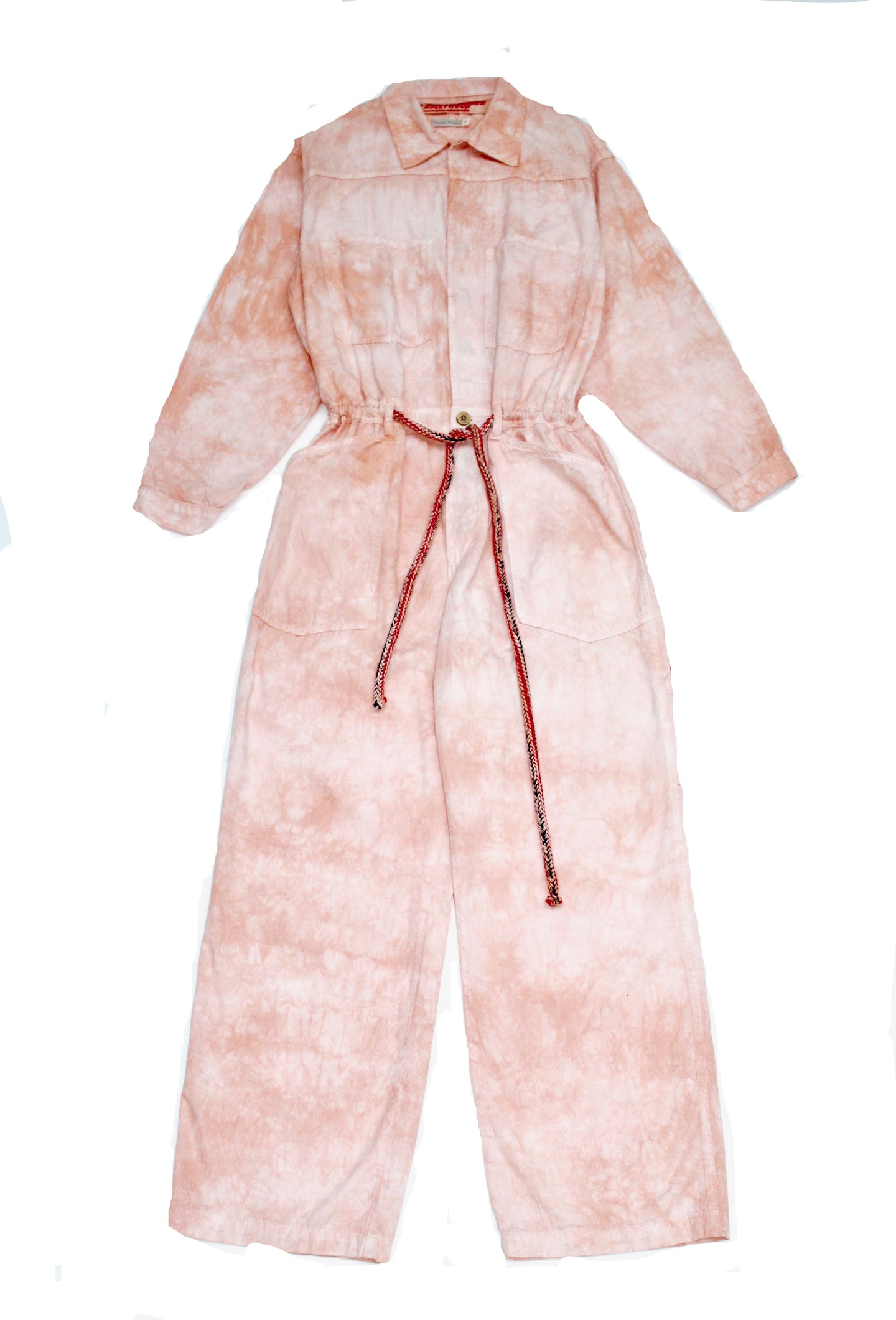 Mechano Oversized Jumpsuit Cloud Lychee