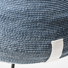 Load image into Gallery viewer, Paper Linen Braid Denim Beret