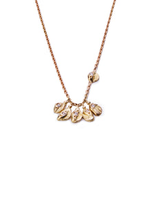 Charm Diamond Nugget Necklace