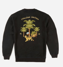 Load image into Gallery viewer, Story Cloth Scenic Crew Sweat · Hemp/Organic Cotton Sweat Black