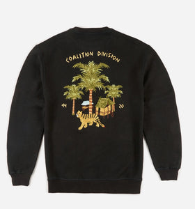 Story Cloth Scenic Crew Sweat · Hemp/Organic Cotton Sweat Black
