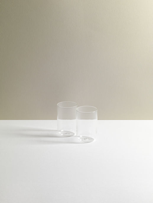 Tuccio Bevands Milerigue Glasseware set of two