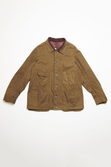Men's Jacket in Brown by Ziggy Chen