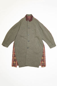 Men's Coat in Charcoal by Ziggy Chen