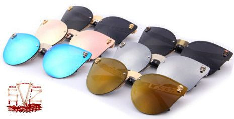 Gothic sunglasses with skulls - 6 colors available