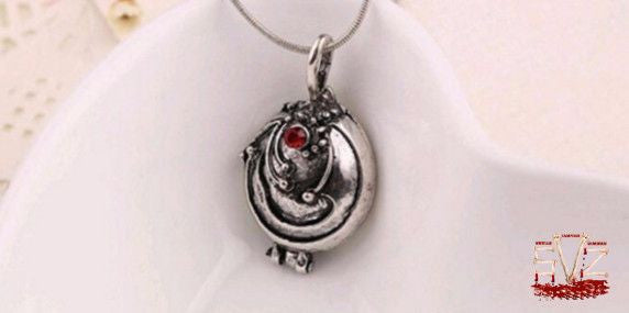 Almost FREE - Vampire necklace and pendant like Elena. 2 colors.