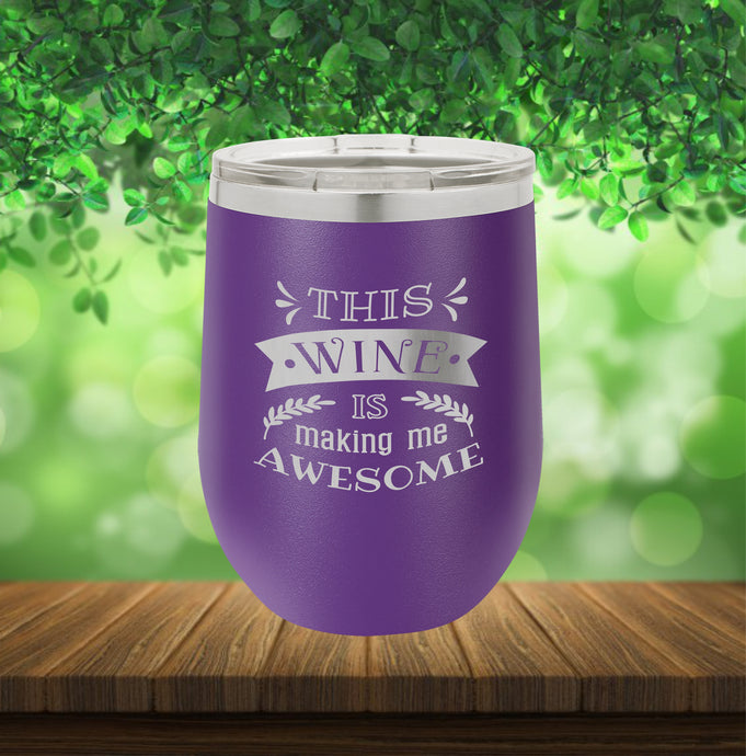a5570182291 Wine Tumbler Insulated 12oz – Radiant Laser Art