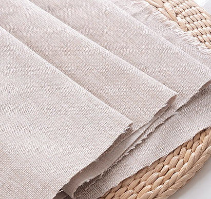 linen fabric cushion cover