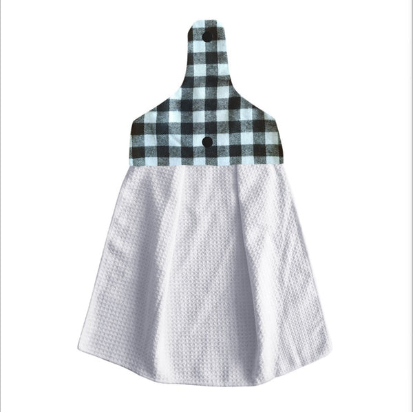 Natural linen geometric navy blue throw pillow & cushion cover