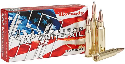 HORNADY AMERICAN WHITETAIL 300-WSM 165GR SP IL AMMO