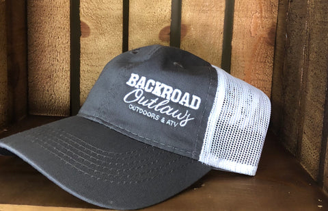 Backroad Outlaws - Cap Gray