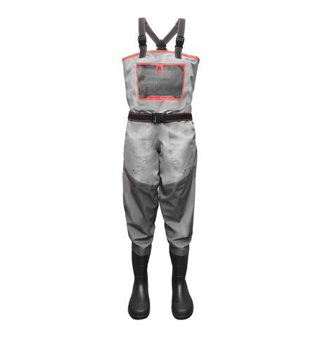 GW Women's Swamp Series Uninsulated Breathable Waders - Coral