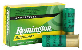 REMINGTON EXPRESS MAG BUCKSHOT 12GA 3in 00BK 5BX - Oversize1