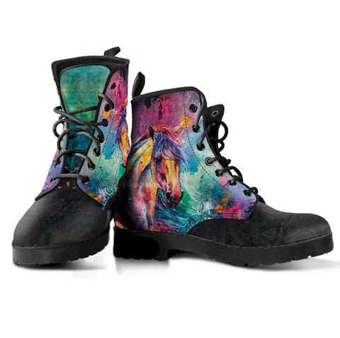 TieDye Mandala Handcrafted Boots