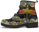 Tie Dye and Peace Women's Leather Boots