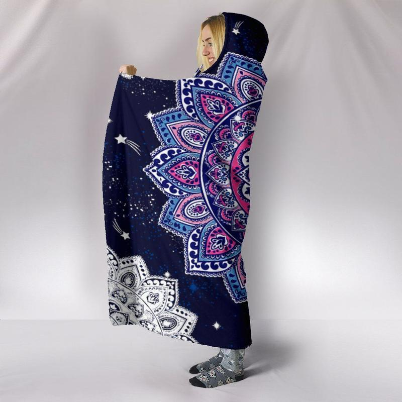Mandala Purple Blue