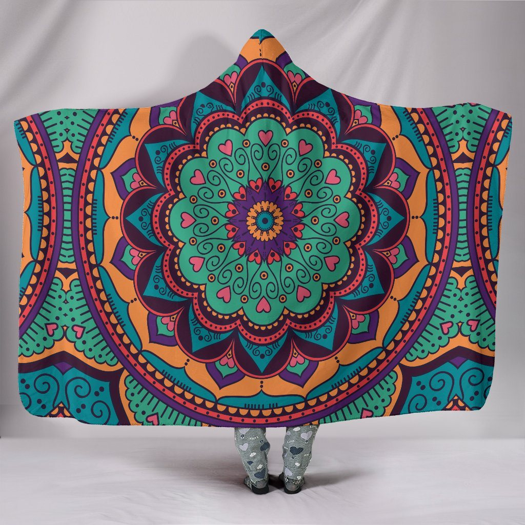 Mandala Yoga Blue Green
