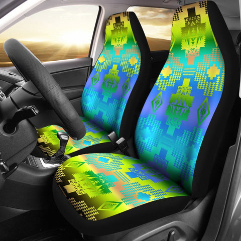 Grassy Herd Car Seat Covers