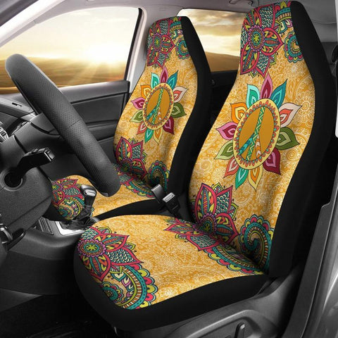 Peace Mandala Seat Covers