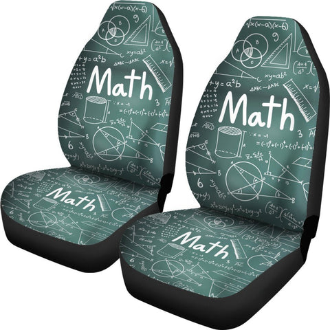 Proud Math Teacher Seat Covers