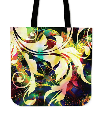 Multicolored Cloth Tote Bag