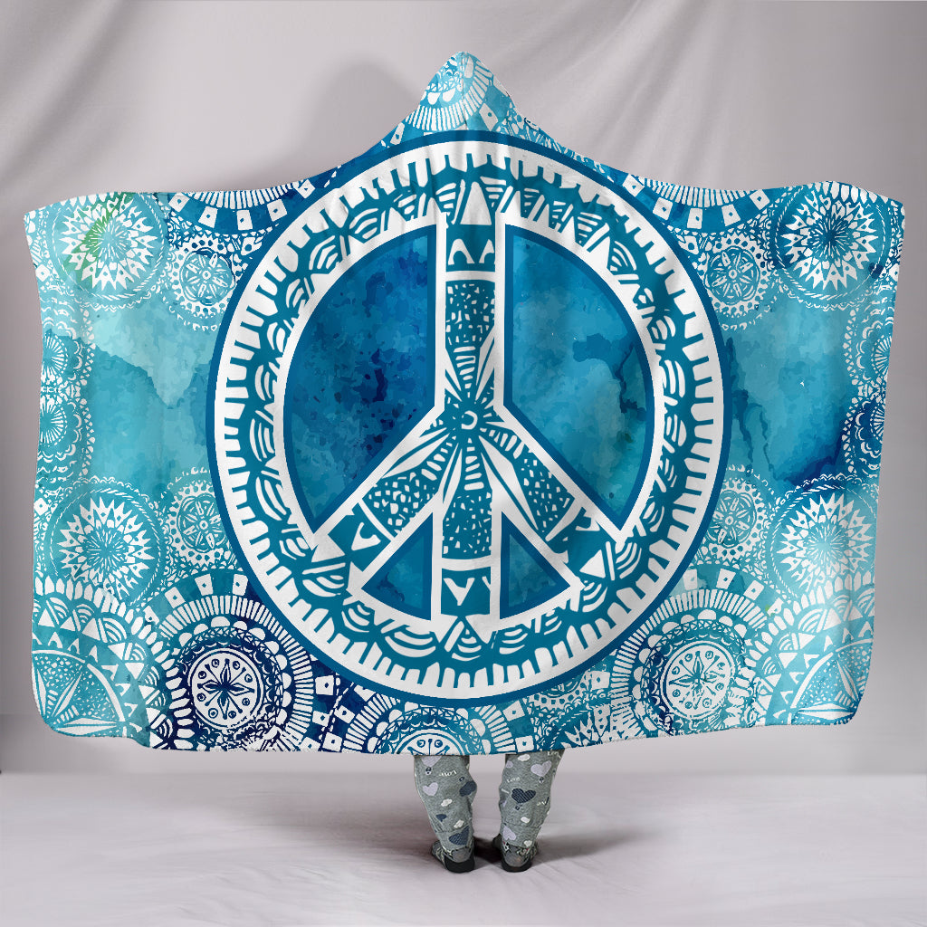 Blue Peace Mandala