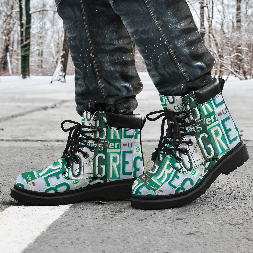 HandCrafted Go Green Performance Boots