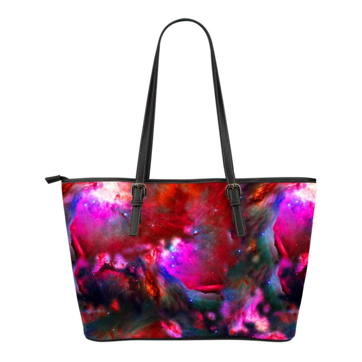 Imagine Galaxy Small Leather Tote