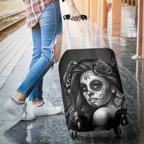 Calavera Girl Black