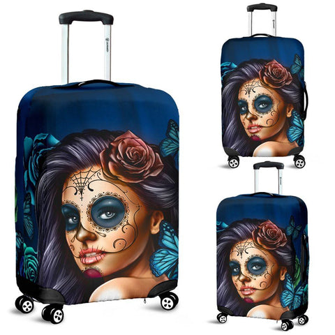 Calavera Girl Blue