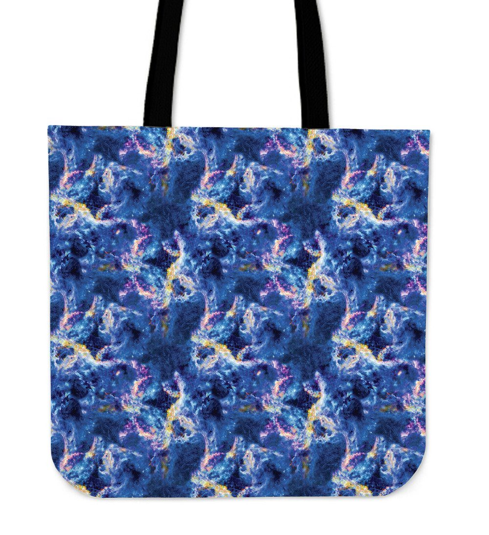 Nebula Saphire Cloth Tote Bag