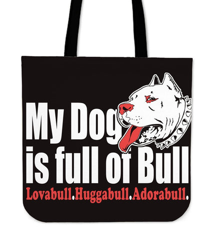 Pit-bull Cloth Tote Bag