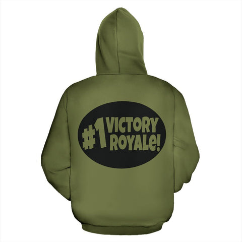 #1 Victory Royale! Army Green