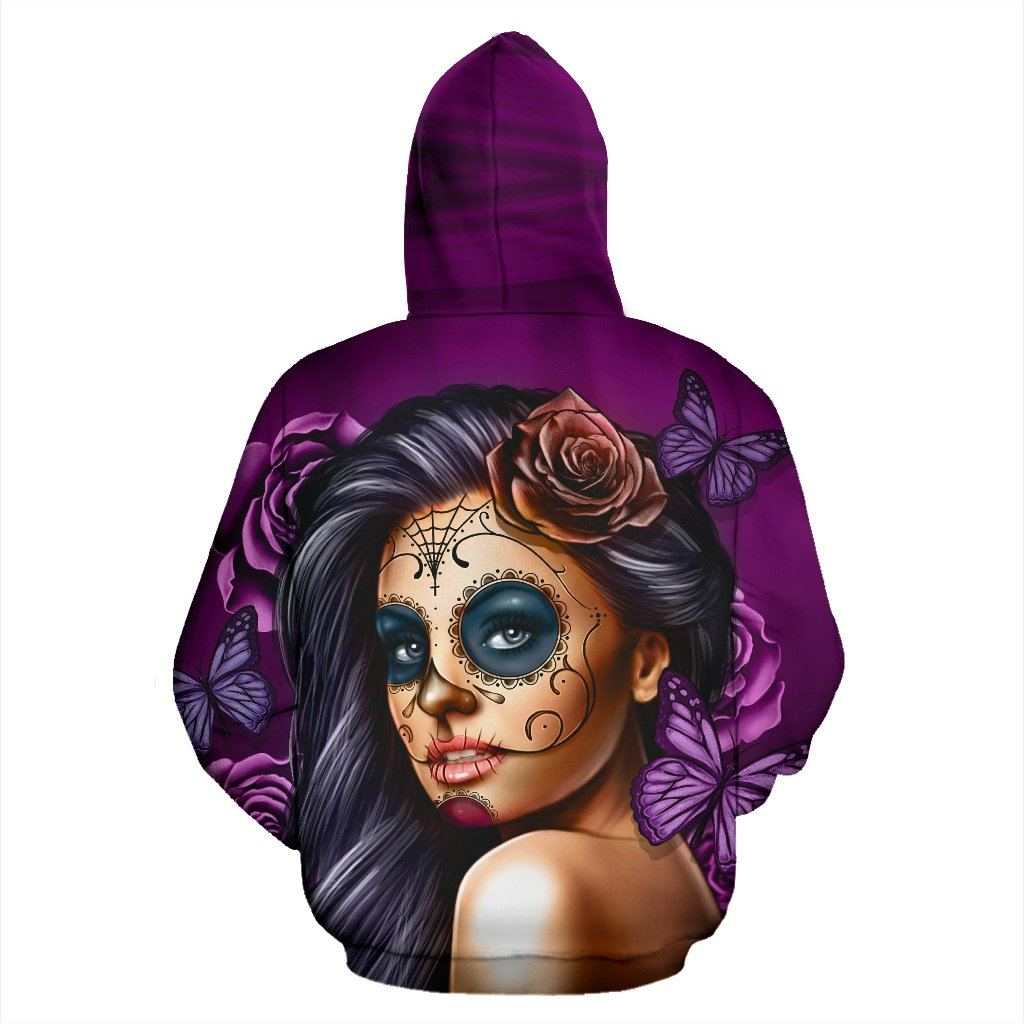 Calavera Girl Purple