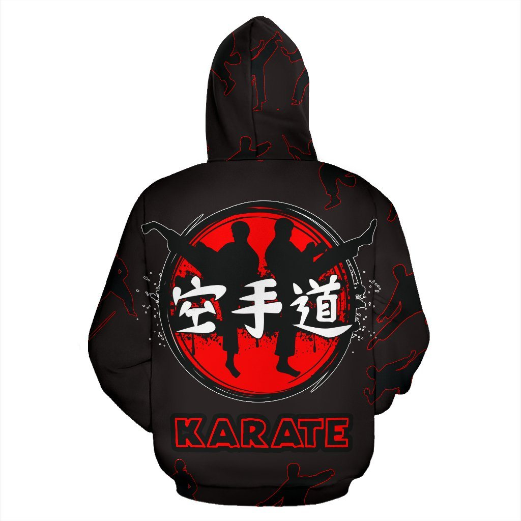 Karate Red Black