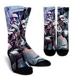 Stormtrooper Light Side Socks