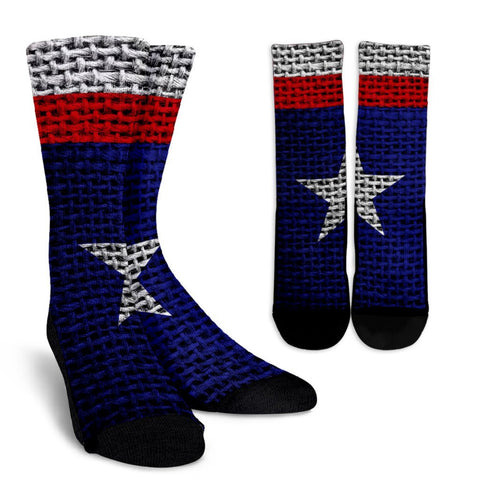 The Texas Flag Crew Socks
