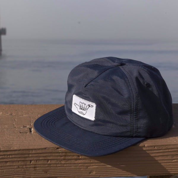 Broken Shaka 5 Panel Logo Hat